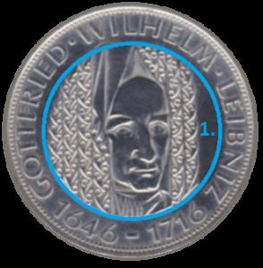 Motiv einer Münze