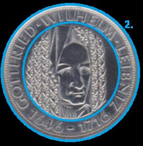 Ausgabe einer Münze