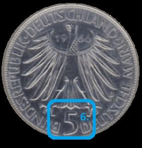 Nominalwert einer Münze