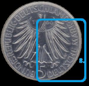 Währung einer Münze