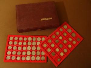 Münzen aufbewahren Münzen lagern