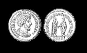 antike Bronzemünzen